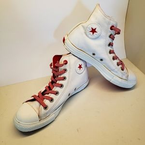 Vintage Converse High tops Project Red